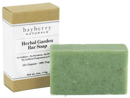 DROPPED: Bayberry Naturals - Bar Soap Herbal Garden - 4 oz. CLEARANCED PRICED