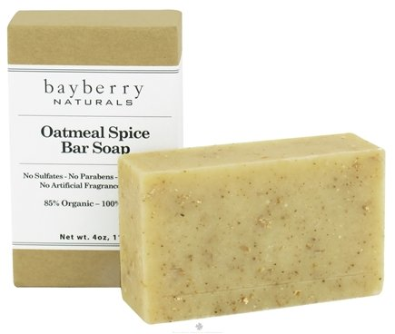 DROPPED: Bayberry Naturals - Bar Soap Oatmeal Spice - 4 oz.