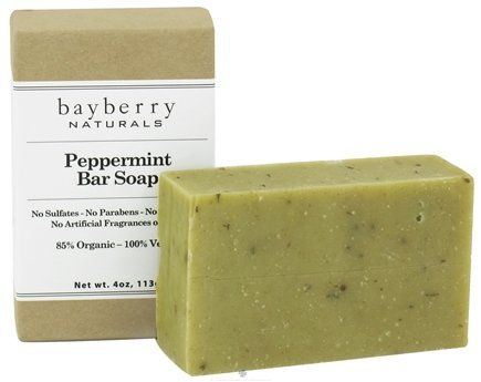 DROPPED: Bayberry Naturals - Bar Soap Peppermint - 4 oz.