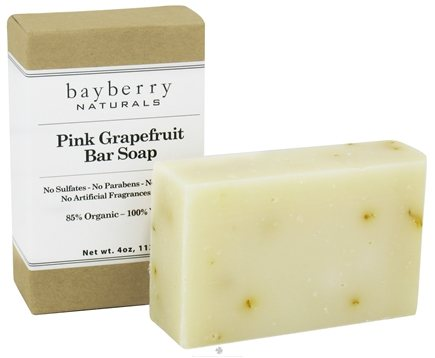 DROPPED: Bayberry Naturals - Bar Soap Pink Grapefruit - 4 oz. CLEARANCED PRICED