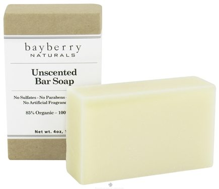DROPPED: Bayberry Naturals - Bar Soap Unscented - 4 oz. CLEARANCED PRICED
