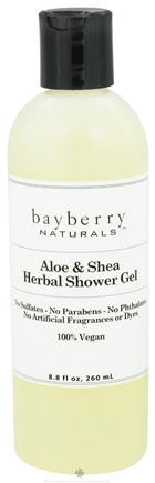 DROPPED: Bayberry Naturals - Shower Gel Aloe & Shea Herbal - 8.8 oz. CLEARANCED PRICED