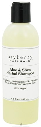 DROPPED: Bayberry Naturals - Shampoo Aloe & Shea Herbal - 8.8 oz. CLEARANCED PRICED