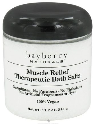 DROPPED: Bayberry Naturals - Bath Salts Therapeutic Muscle Relief - 11.2 oz. CLEARANCED PRICED