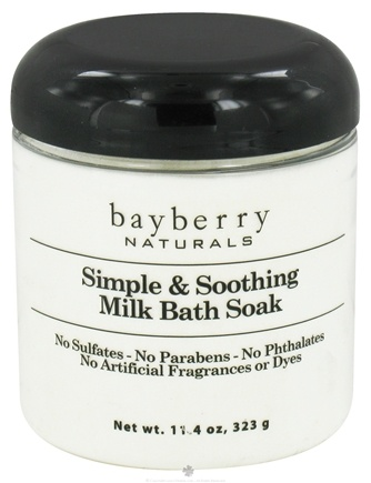 DROPPED: Bayberry Naturals - Bath Soak Simple & Soothing Milk - 11.4 oz. CLEARANCED PRICED