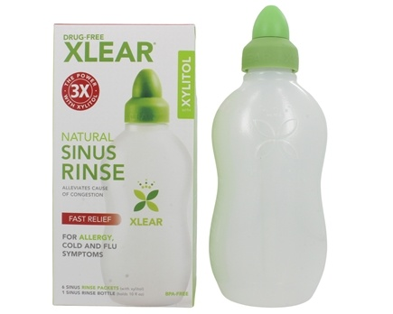 Xlear - Sinus Care Rinse System with Xylitol
