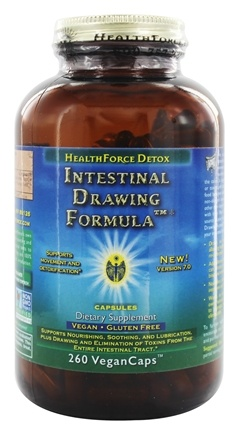 HealthForce Nutritionals - DO NOT PUBLISH Intestinal Drawing Formula Version 5 with Zeolite - 260 Vegetarian Capsules