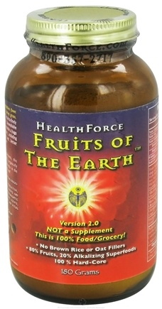 DROPPED: HealthForce Nutritionals - Fruits of the Earth Version 2.0 Powder - 180 Grams CLEARANCE PRICED