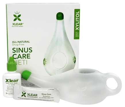 Xlear - Sinus Care Neti System with Xylitol