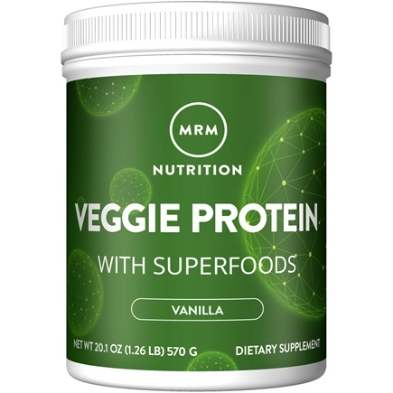 MRM - 100% All Natural Veggie Protein Vanilla - 20.1 oz.