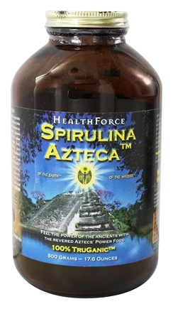 HealthForce Nutritionals - Spirulina Azteca Powder - 500 Grams