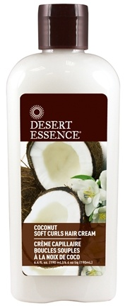 Desert Essence - Soft Curls Hair Cream Coconut - 6.4 oz.