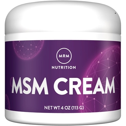 MRM - MSM Cream - 4 oz.