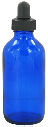 Wyndmere Naturals - Cobalt Blue Glass Bottle with Dropper - 4 oz.