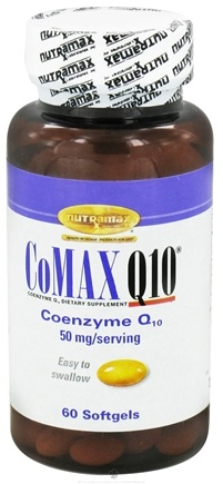 DROPPED: Nutramax Labs - CoMAX Q10 50 mg. - 60 Softgels CLEARANCE PRICED