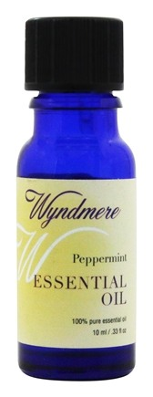 Wyndmere Naturals - Essential Oil Peppermint - 0.33 oz.