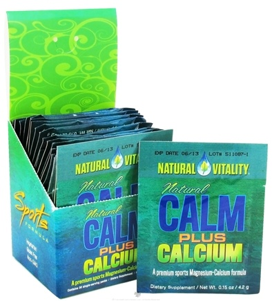 DROPPED: Natural Vitality - Natural Calm Sports Plus Calcium Regular Flavor - 30 Packet(s) CLEARANCE PRICED
