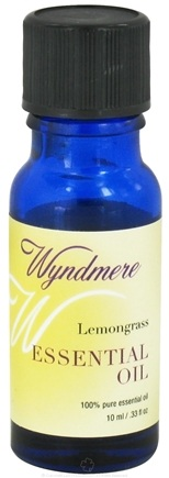 Wyndmere Naturals - Essential Oil Lemongrass - 0.33 oz.