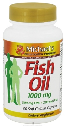 DROPPED: Michael's Naturopathic Programs - Fish Oil 1000 mg. - 30 Softgels CLEARANCE PRICED