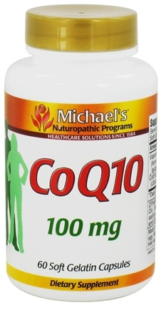 DROPPED: Michael's Naturopathic Programs - CoQ10 100 mg. - 60 Softgels CLEARANCE PRICED