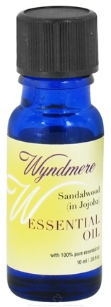 DROPPED: Wyndmere Naturals - Essential Oil Sandalwood in Jojoba - 0.33 oz.