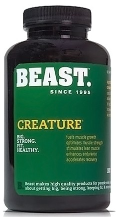 DROPPED: Beast Sports Nutrition - Creature Professional Strength Creatine Blend - 180 Capsules