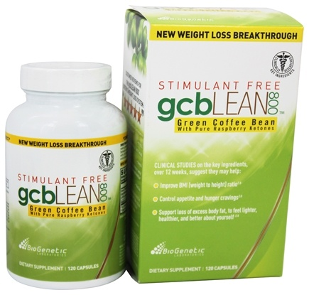 DROPPED: BioGenetic Laboratories - GCB Lean 800 Green Coffee Bean - 120 Capsules