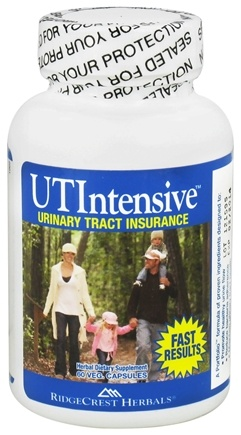 DROPPED: Ridgecrest Herbals - UTIntensive - 60 Vegetarian Capsules CLEARANCE PRICED