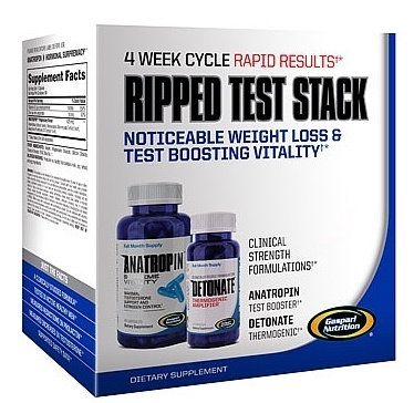 DROPPED: Gaspari Nutrition - Ripped Test Stack Limited Edition - CLEARANCE PRICED