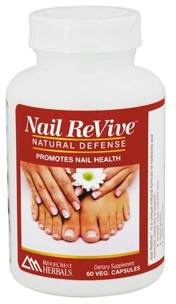 DROPPED: Ridgecrest Herbals - Nail ReVive Natural Defense - 60 Vegetarian Capsules CLEARANCE PRICED