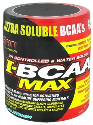 DROPPED: SAN Nutrition - I-BCAA Max Cool Melon - 10 oz. CLEARANCE PRICED