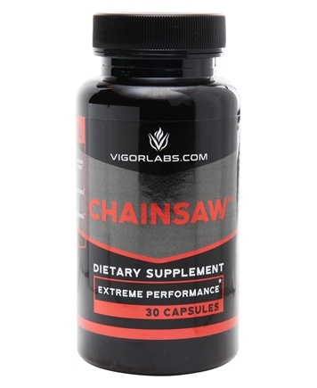 Vigor Labs - Chainsaw Extreme Sexual Stimulant - 30 Capsules
