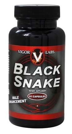 Vigor Labs - Black Snake Male Enhancement - 30 Capsules