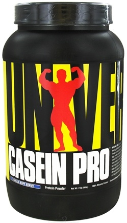 DROPPED: Universal Nutrition - Casein Pro Sustained Release Protein Vanilla Soft Serve - 2 lbs.