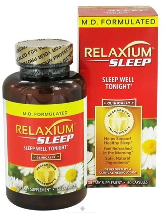 DROPPED: Relaxium - Sleep - 60 Capsules CLEARANCE PRICED