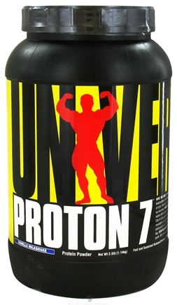 DROPPED: Universal Nutrition - Proton 7 Premium Protein Powder Vanilla Milkshake - 2.5 lbs. CLEARANCE PRICED