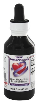 Kroeger Herbs - New Dimensions Tinctures Black Walnut Hull Extra Strength - 2 oz.