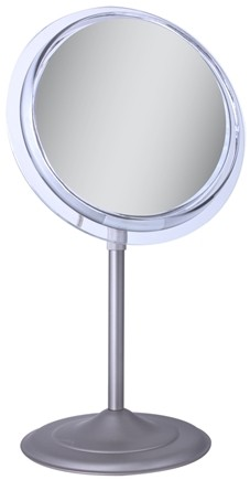 Zadro - Surround Light 5X Vanity Mirror SA45 Satin Nickel