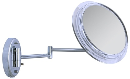 Zadro - Surround Light 7X Wall Mirror SW37 Chrome