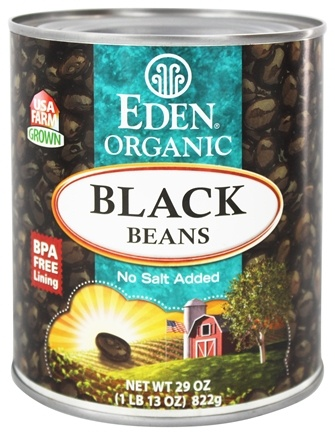 DROPPED: Eden Foods - Organic Black Beans - 29 oz.
