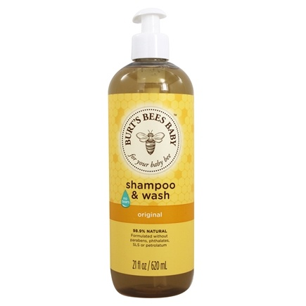 DROPPED: Burt's Bees - Baby Bee Shampoo & Wash Tear Free Original - 21 oz.