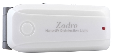 DROPPED: Zadro - Nano UV Disinfectant Scanner NANO01 Pearl