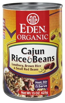 Eden Foods - Organic Cajun Rice and Beans - 15 oz.