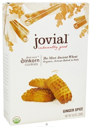 DROPPED: Jovial Foods - Einkorn Cookies Ginger Spice - 8.8 oz. CLEARANCE PRICED