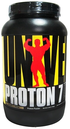 DROPPED: Universal Nutrition - Proton 7 Premium Protein Powder Cookies & Cream - 2.5 lbs. CLEARANCE PRICED