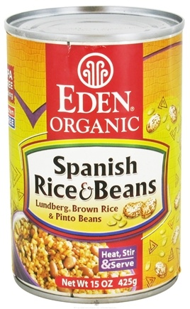 DROPPED: Eden Foods - Organic Spanish Rice and Beans - 15 oz. CLEARANCE PRICED