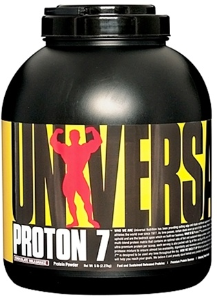 DROPPED: Universal Nutrition - Proton 7 Premium Protein Powder Chocolate Milkshake - 5 lbs. CLEARANCE PRICED