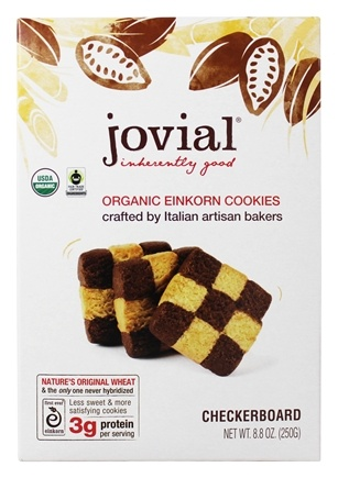 Jovial Foods - Einkorn Cookies Checkerboard - 8.8 oz.