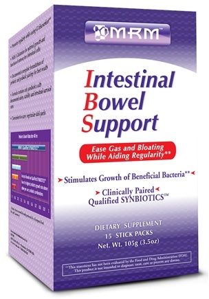 DROPPED: MRM - Intestinal Bowel Support - 15 x 7g Stick Packets - CLEARANCE PRICED