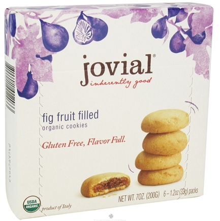 DROPPED: Jovial Foods - Organic Cookies Fig Fruit Filled - 7 oz. CLEARANCE PRICED